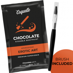 COQUETTE POCKET CHOCOLATE KISSABLE BODY PAINT 10 ML