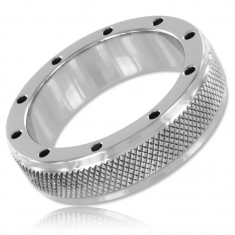 METALHARD METAL RING FOR PENIS AND TESTICLES 55MM